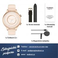 TicWatch C2+ Rose Gold